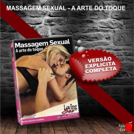DVD- Massagem sexual: A Arte do Toque