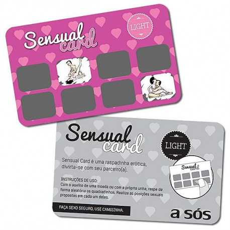 Raspadinha Sensual Card Light