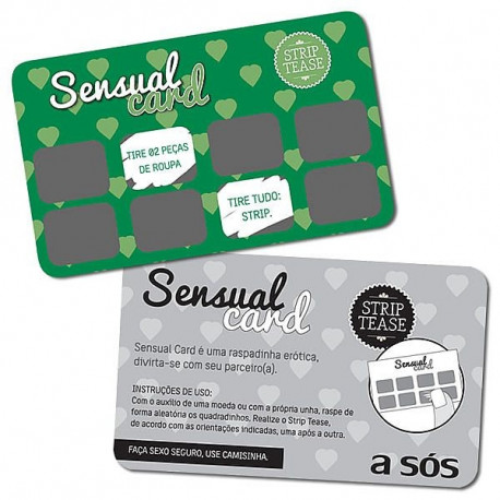 Raspadinha Sensual Card Striptease