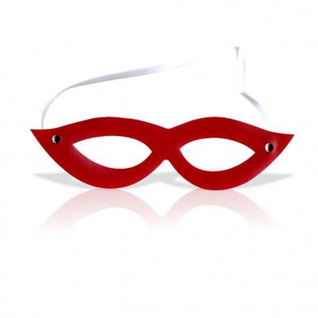 Máscara Tiazinha em Couro Sintético Cores Diversas