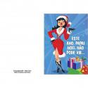 Cartão Divertido - Este ano Papai Noel não pode vir