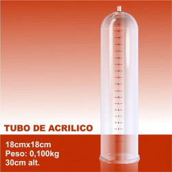 Acessório para bomba peniana - Tubo de Acrílico