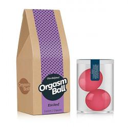 Bolinha com óleo - Orgasm Ball Excited