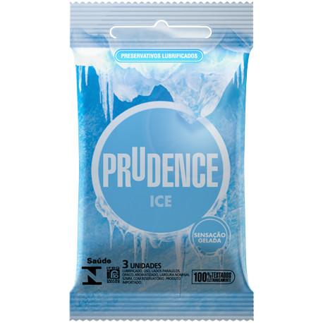 Preservativo Excitante Ice Prudence - Camisinha Gelada