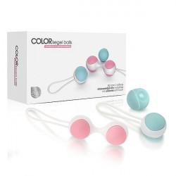 Color Kegel Balls - Bolinhas de Pompoar com pesos