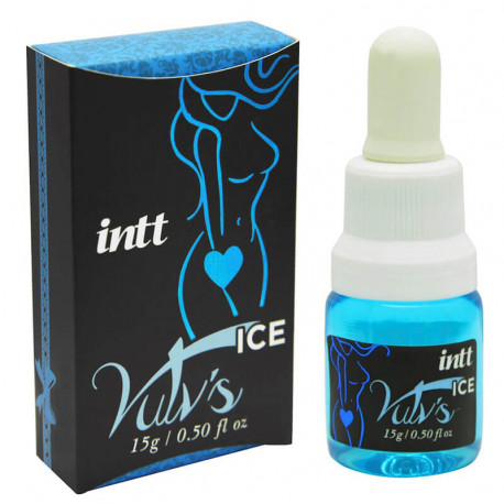 Intt Vulvs Ice - Excitante feminino 4 em 1