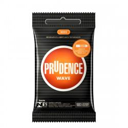 Preservativo Wave Prudence - Camisinha Textura Ondulada