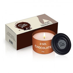 Vela Hidratante Beijável Sex Gourmet -Chocolate 50g