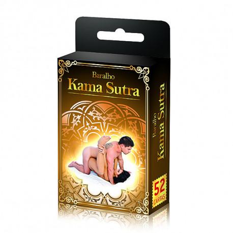 Baralho com 52 Posições do Kama Sutra
