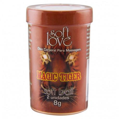 Bolinha Funcional Magic Tiger- Vibra, Pulsa, Esquenta e esfria