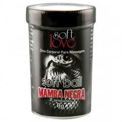 Bolinha Funcional Mamba Negra - Super Excitante