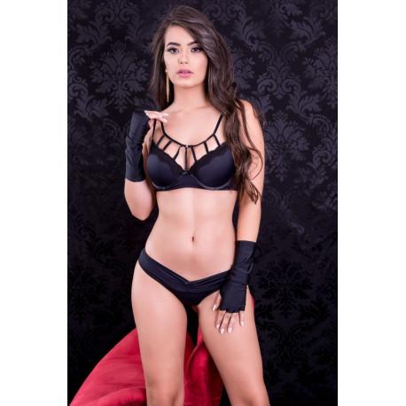 Conjunto Gladiadora - Sutiã strappy bra
