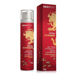 Spray Chinês - Gel Aromatizado que Vibra, Esquenta e Esfria