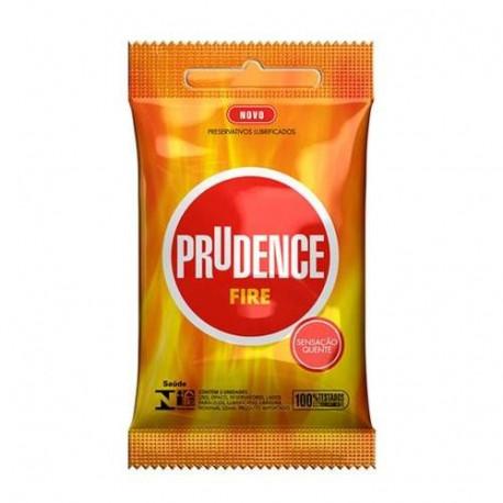 Preservativo Excitante Fire Prudence - Camisinha Excitante