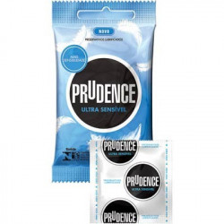Preservativo Ultra Sensível Prudence - Camisinha Ultra Fina