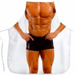 Avental Divertido Homem Musculoso