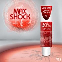 Pomada Vibratória Max Shock - Excitante Poderoso