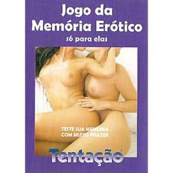 Jogo da Memória Erótico para Mulheres