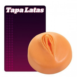 Tapa Lata em Formato de Vagina