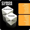 Dados Eróticos Cubos do Amor - Ação e parte do corpo