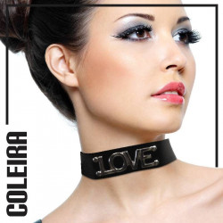 Coleira Sensual Love