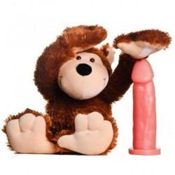 Macaco Sensual com Compartimento Secreto e Pênis Realístico