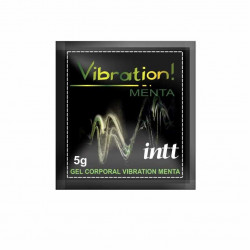 Gel Excitante Beijável Vibration Menta - Sachê