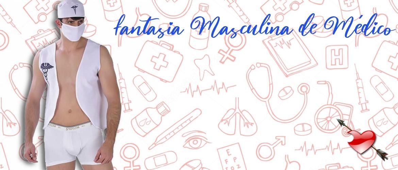Fantasia Masculina de Médico