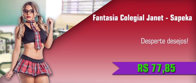 Fantasia Colegial Janet - Sapeka