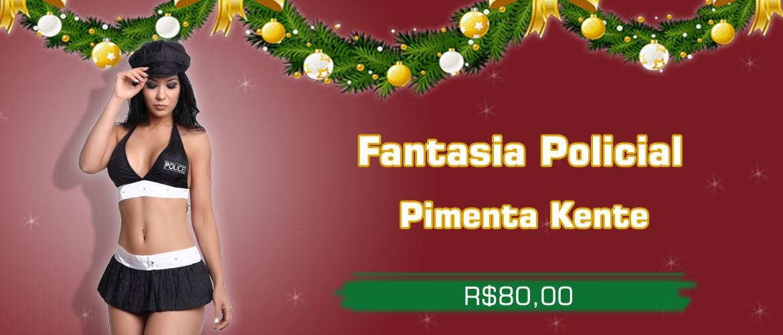 Fantasia Policial - Pimenta Kente