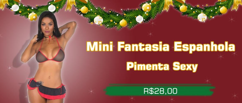 Mini Fantasia Espanhola - Pimenta Sexy