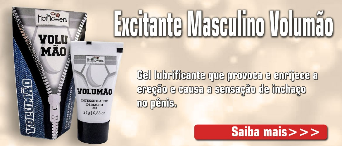 Excitante Masculino Volumão 25G - Hot Flowers